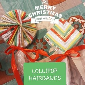 Hair band Lolipops for Stocking Suffers